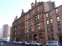 Ingram Street - 1 bedroom flat with separate kitchen : Parking option available
