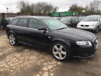 AUDI A4 2007 2.0 TDI 140 MY S LINE DIESEL - MANUAL - LOW MILEAGE - LEATHER SEATS
