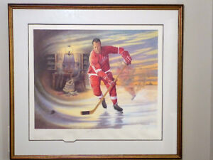 GREAT DEAL - Signed GORDIE HOWE Limited Edition ($1250 Value)