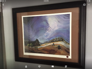 Emily Carr limited edition print