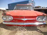 Parting out 1960 Corvair