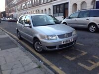 VOLKSWAGEN POLO 1.4 MATCH PETROL MANUAL LOW MILEAGE 68000