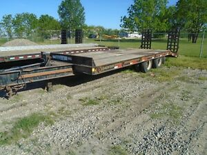 2006 Loadstar 20 ton Float Trailer