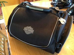 saccoche,valise,harley davidson ,