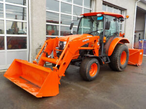 MULTIPLE KUBOTA  L6060 TRACTOR LOW HOUR SNOW MACHINES