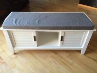 Bench with convenient storage