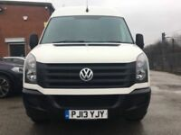 DEPOSIT TAKEN MORE DUE IN THIS WEEK VOLKSWAGEN CRAFTER CR35 TDI 143 LWB 2013