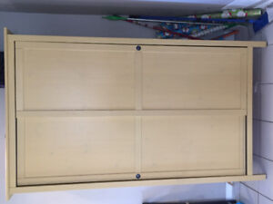 We are selling! Wardrobe with 2 sliding doors