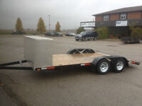 16' Low boy Car hauler,Drop Axles LED,BEST Price anywhere!