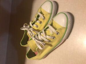 Yellow Converse Size 5.5