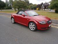 Audi TT ROADSTER 1.8 T QUATTRO 225 (red) 2001