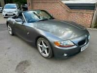 2005 (05) BMW Z4 3.0i SE AUTO CONVERTIBLE, ONE OWNER & JUST 47,000 MILES