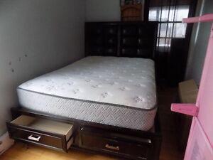 Queen Size Captain Bed & Mattress