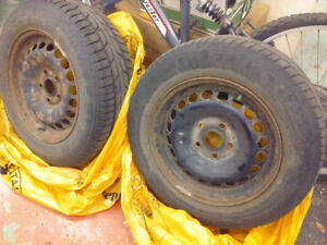 Winter Tires Pneus Hiver 195/65R15