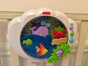 Fisher Price crib aquarium West Island Greater Montréal image 1