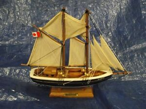 Wooden Bluenose Model