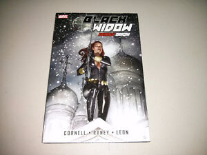 "Marvel's Black Widow TPB ""Deadly Origin"" $10"