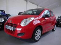 Suzuki Alto 1.0 SZ ( 68ps ) 5-Dr, 2014 63, Red, Only 14600 Miles with FSSH,