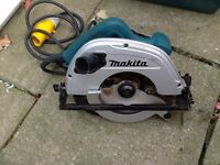 MAKITA 110v 5704R 190mm CIRCULAR SAW