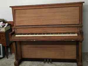 Piano for sale.