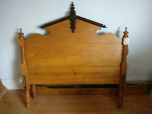 2 Antique Double Bed Frames