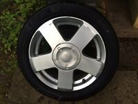 Ford Fiesta fusion alloy