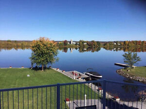 Spectacular maintenance free waterfront property.