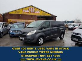 2017 17 FORD TOURNEO 2.0 310 TITANIUM TDCI BIGGER 170 BHP BUS + ICE PACK
