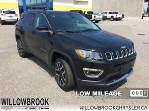 2017 Jeep Compass Limited  - Low Mileage