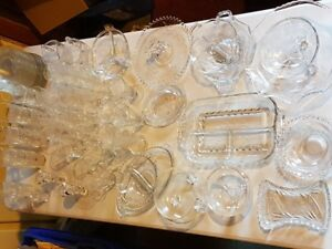 Cornflower Crystal - Misc Crytal - Fancy Plates