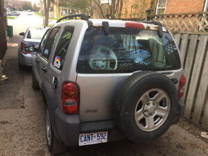 2002 Jeep Liberty Sport 3.7 Litre