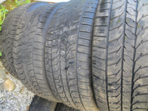 4 P225/45R18 GENERAL RT43 ALL 4 TIRES $260.00