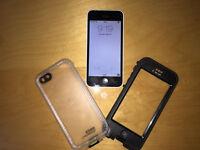 iPhone 5c 16GB white *Perfect* bonus Lifeproof Nuud case