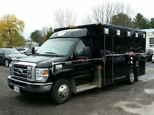 2009 Ford e350 Ambulance - Tailgate Party Bus!