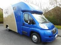 Citroen Relay LWB with brand new 'John Oates' horsebox conversion
