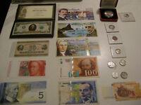 collection billets et monnaie