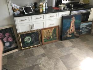 5 Pieces Original Artwork