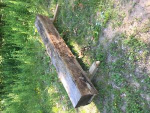 Barn beam 8'ft long x 12