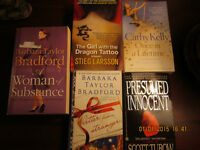 Lot of 8 Fiction books