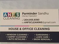 HOUSE CLEANING SPECIAL 2.5hr - $80   204-955-9393
