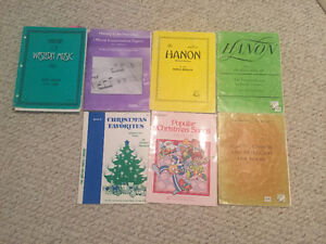 Piano Books: Hanon, Brown Scale Book, Christmas Songs
