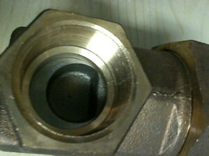 """grinnell Threaded Gate Valves - 1 1/2"""" 300 SWP    600 WOG NEW Kitchener / Waterloo Kitchener Area image 2"""
