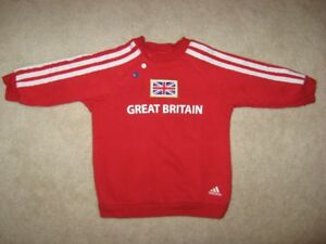 Team Great Britain Olympic Adidas Baby Sweater