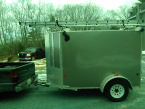 2014 5'x8' EasyHauler enclosed trailer