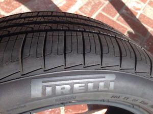 4 TAKE OFF 245/40/19 PIRELLI cinturato P7 RUN FLAT tires %99 tre
