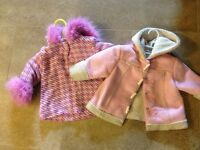 Girl's fall/spring coats size 18 months