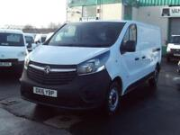 Vauxhall Vivaro 2900 1.6cdti L2 H1 115ps DIESEL MANUAL WHITE (2016)