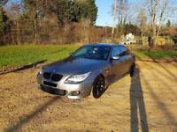 2009 FACELIFT E60 BMW 520D M SPORT BUSINESS EDITION SALOON GREY 5 DOOR