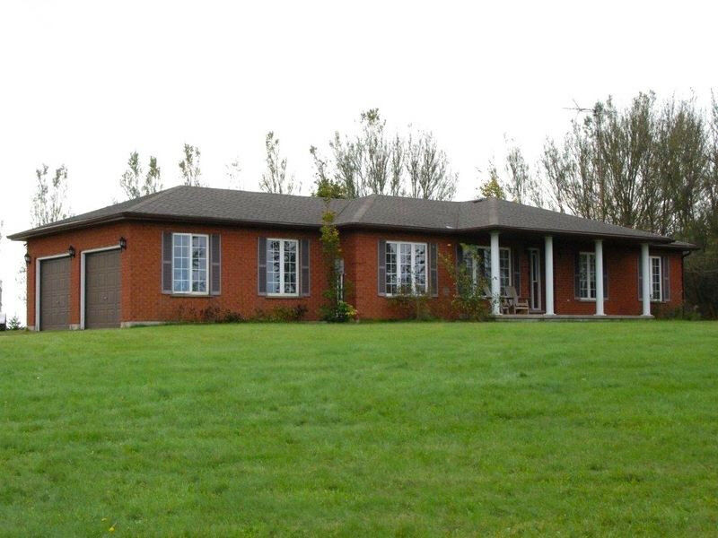 Red Brick Bungalow On 18 Acres Of Farmland