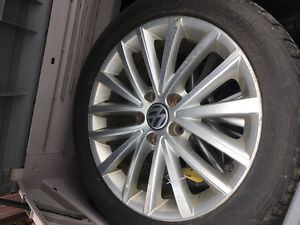 Tires and rims for 2011 Jetta